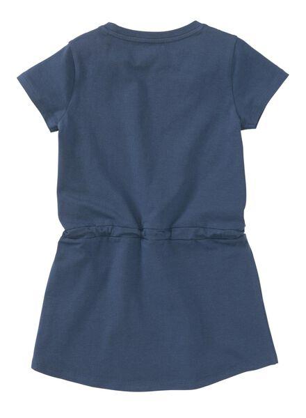 kinderjurk blauw blauw - 1000013052 - HEMA