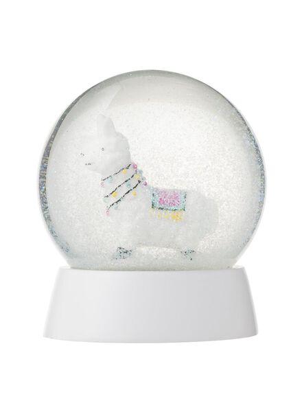 sneeuwbol glas Ø 10 cm - 25103018 - HEMA