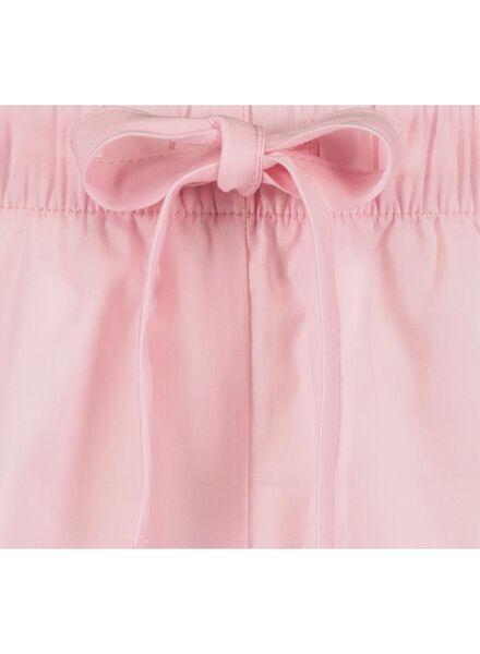 &C pyjama short lichtroze lichtroze - 1000016517 - HEMA