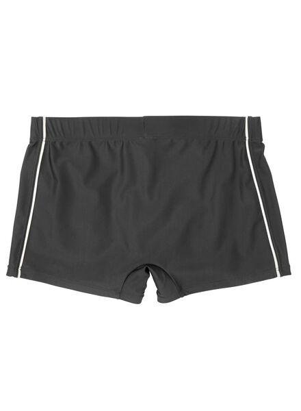 heren zwembroek zwart zwart - 1000012594 - HEMA