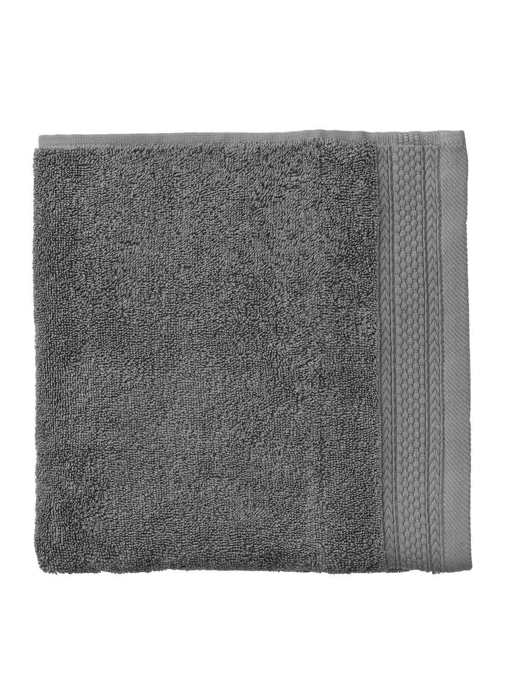 HEMA Handdoek - 60 X 110 Cm - Hotelkwaliteit - Donkergrijs (gris foncé)