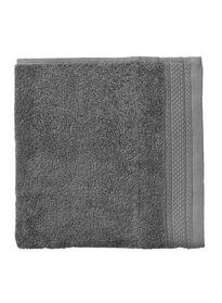 handdoek 60 x 110 cm hotelkwaliteit donkergrijs