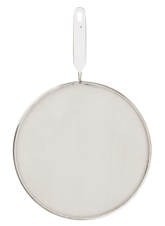HEMA Anti-spatdeksel Ø28cm (zilvergrijs)