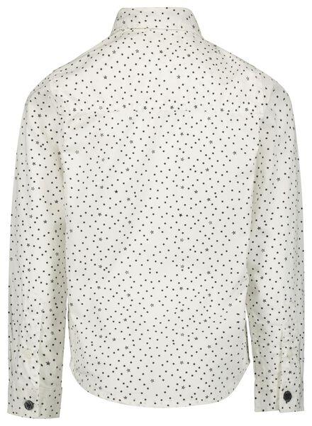 kinder overhemd met stropdas gebroken wit gebroken wit - 1000017205 - HEMA