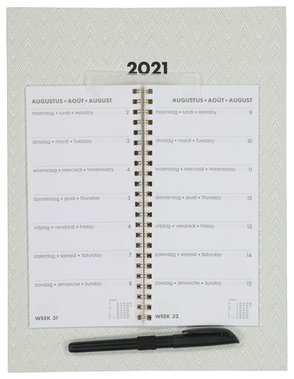 weekkalender 30x23 2021 - HEMA