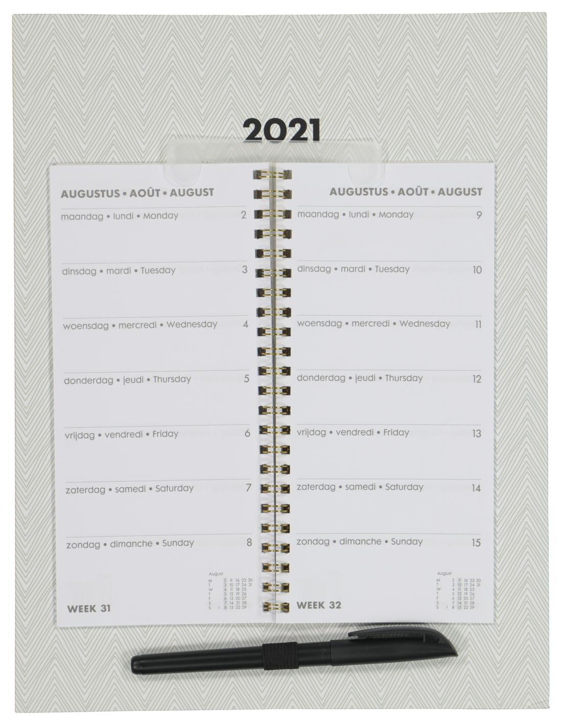 HEMA Weekkalender 30x23 2021