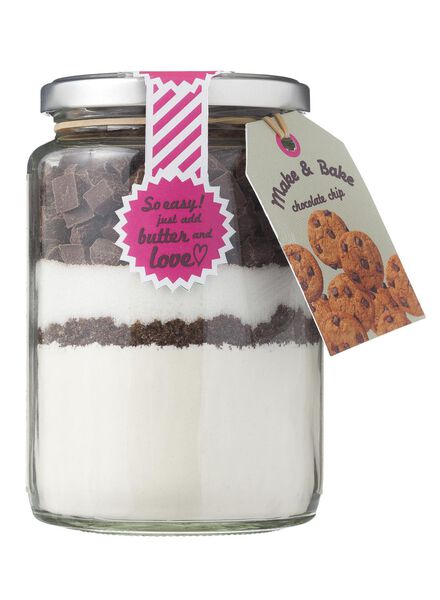 Make & Bake chocolate chip - 10260087 - HEMA