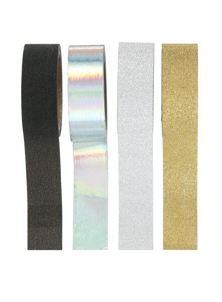 4-pak washi tapes - 14822310 - HEMA