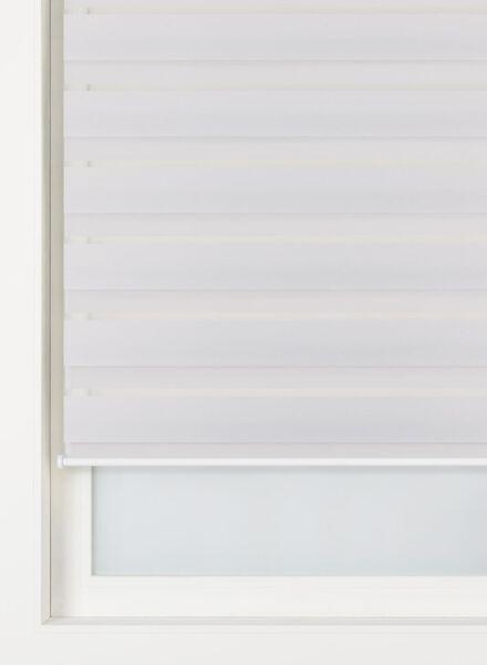 duo rolgordijn uni glanzend lichtgrijs - 7410244 - HEMA