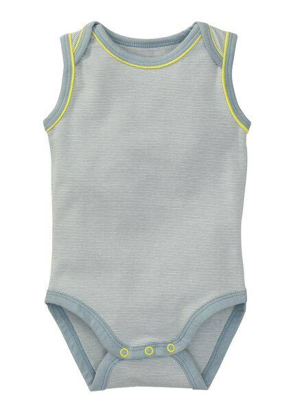 baby romper grijs grijs - 1000004963 - HEMA