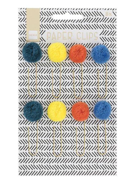 8-pak paperclips - 60700290 - HEMA