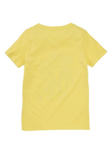 kinder t-shirt geel geel - 1000012363 - HEMA