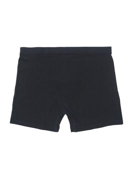 3-pak herenboxers zwart zwart - 1000010252 - HEMA