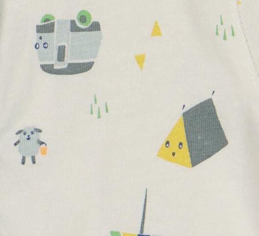 newborn jumpsuit wit wit - 1000019821 - HEMA