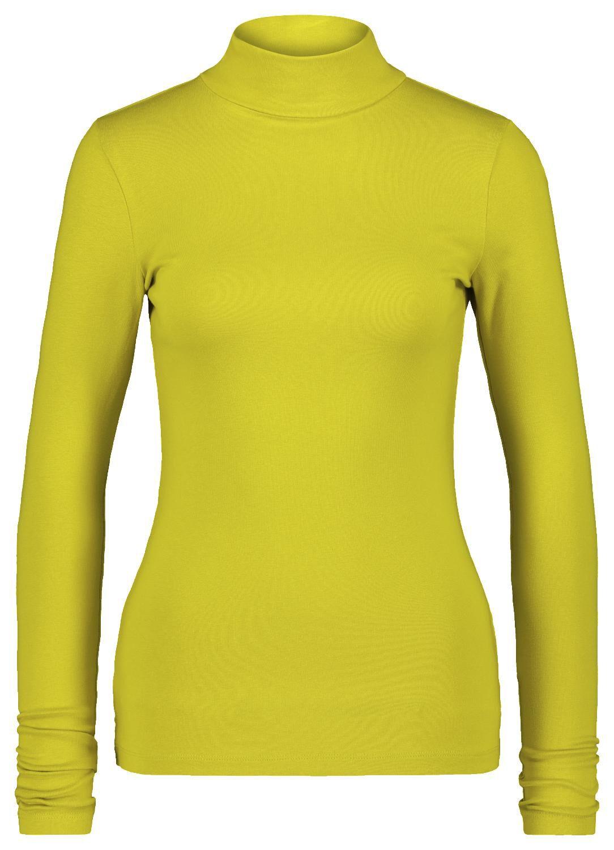 HEMA Dames T-shirt Col Lime (lime)