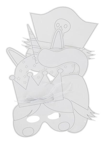 4-pak maskers - 15920141 - HEMA