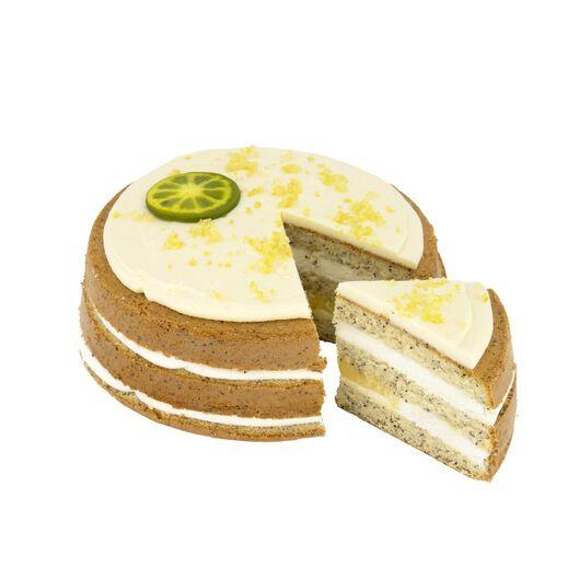 luxe lemon poppyseed taart 8 p. - 6340037 - HEMA