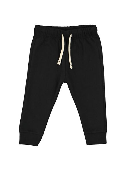baby sweatbroek zwart zwart - 1000020431 - HEMA