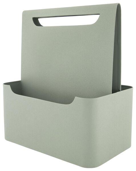 tijdschrifthouder 19x30x35 metaal groen - 13011034 - HEMA