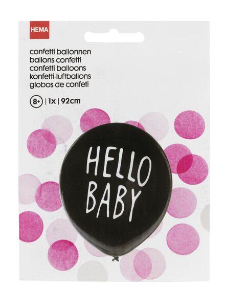 gender onthullingsballon meisje - 14230006 - HEMA