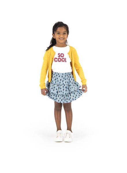 kinder t-shirt wit wit - 1000013543 - HEMA