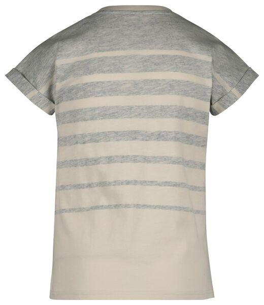 kinder t-shirt blauw blauw - 1000019164 - HEMA