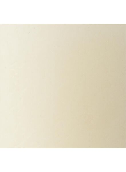 rustieke kaars - 8 x 5 cm - ivoor - 13503272 - HEMA