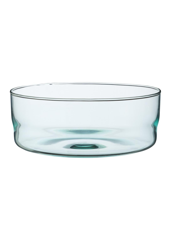 HEMA Schaal - 23 Cm - Bergen - Blauw Glas (blauw)