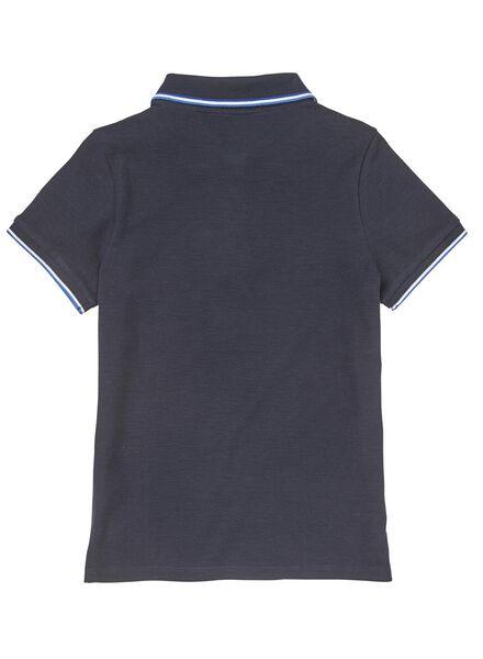 kinderpolo donkerblauw - 1000008651 - HEMA