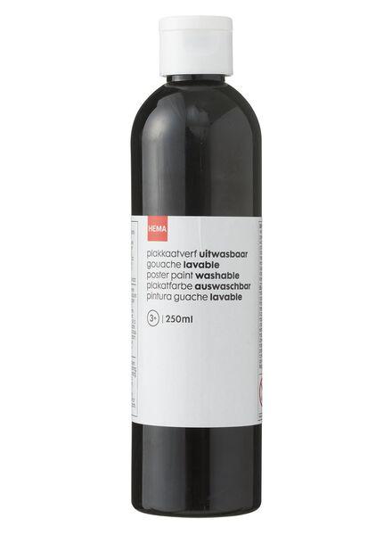 plakkaatverf zwart - 15988717 - HEMA