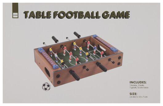 tafelvoetbal spel 34.5x23x7 - 61122354 - HEMA