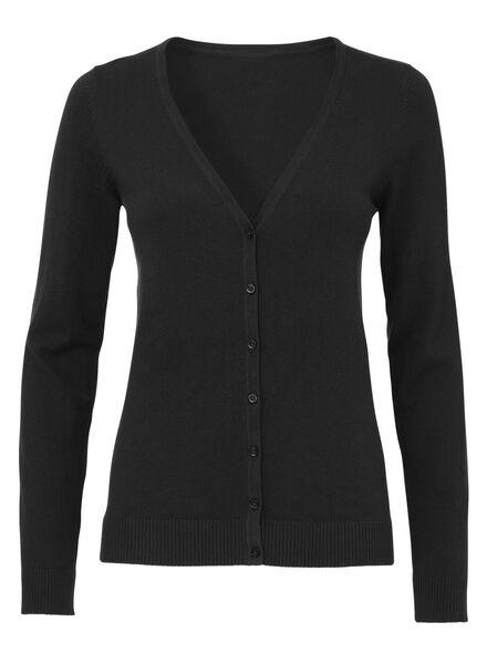 dames vest zwart - 1000004958 - HEMA