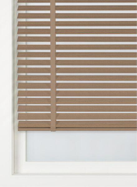 jaloezie hout gebeitst 50 mm - 7420101 - HEMA