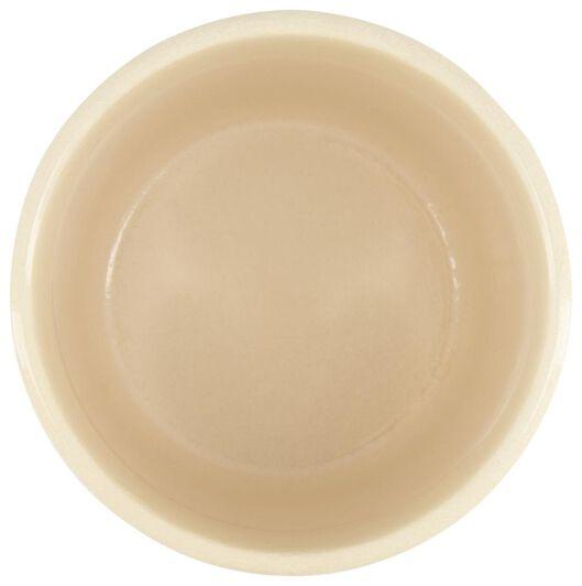 bloempot - 14 cm x Ø 13.5 cm - groen/wit keramiek stip - 13392148 - HEMA