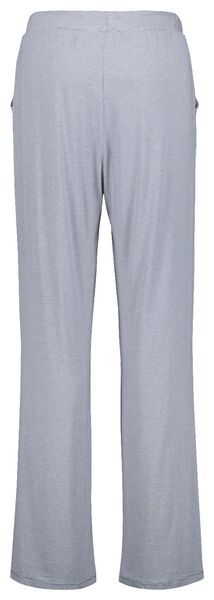 dames pyjamabroek viscose streep blauw L - 23421893 - HEMA