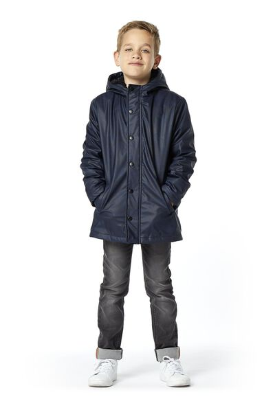 kinderjas donkerblauw - 1000020200 - HEMA