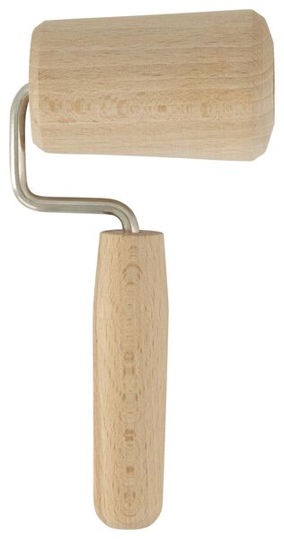 deegroller 5cm hout - 80851207 - HEMA