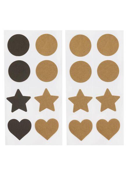 5-pak stickers - 14770024 - HEMA