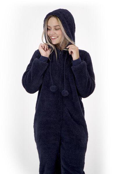 dames onesie donkerblauw - 1000020328 - HEMA