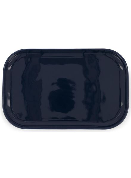 bord - 22 x 14 cm - donkerblauw - 9602071 - HEMA