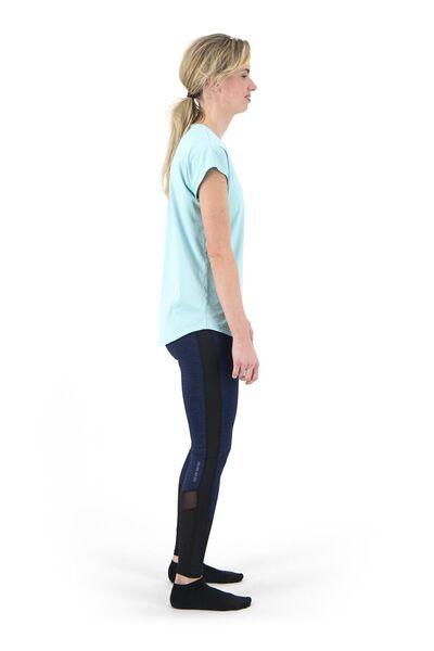 dames sportshirt loose fit mintgroen XXL - 36050235 - HEMA