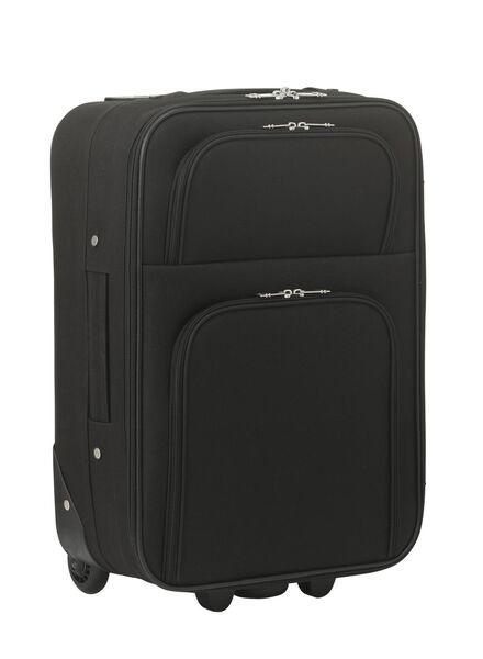 koffer - 55 x 35 x 20 - zwart 55 x 35 x 20 zwart - 18600251 - HEMA