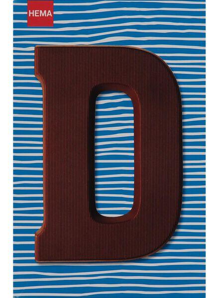 melkchocolade letter D - 10033003 - HEMA