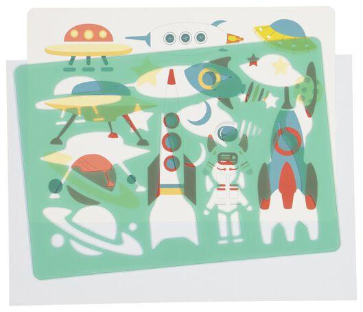 tekensjabloon ruimtevaart - 15900057 - HEMA