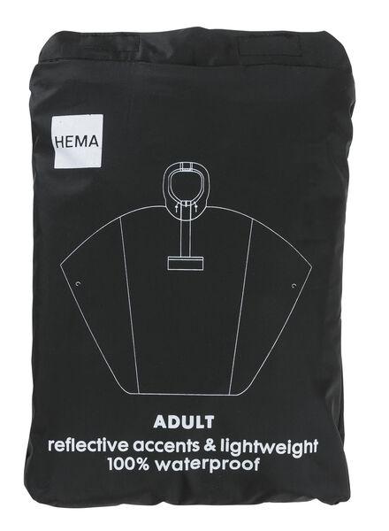 opvouwbare unisex regenponcho - 34460050 - HEMA
