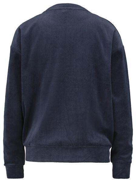 damessweater donkerblauw donkerblauw - 1000018252 - HEMA