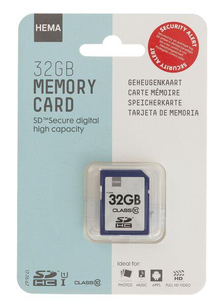 geheugenkaart 32 GB - 39512300 - HEMA