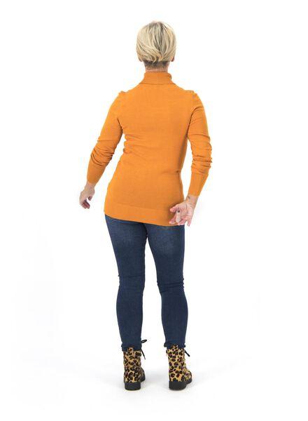 dames coltrui okergeel okergeel - 1000015662 - HEMA