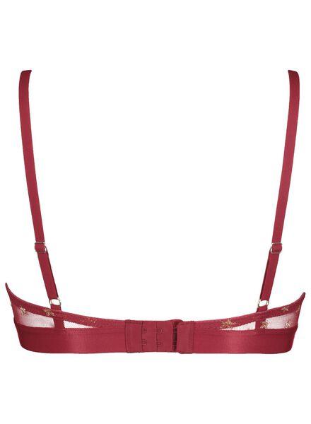 B.A.E. push-up beugelbh rood rood - 1000017403 - HEMA