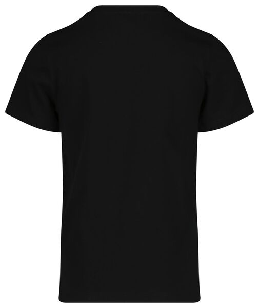 kinder t-shirt mini-me zwart zwart - 1000019294 - HEMA